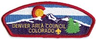 Denver Area Council patch